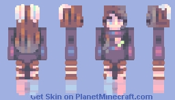 happy borthday aprilcot!!! Minecraft Skin