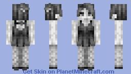 The Dancer // Grey-scale CE Minecraft Skin