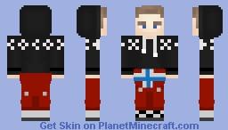 Norsk Russ Minecraft Skin