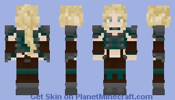 Maxine Seryus - Not for use on MassiveCraft Minecraft Skin