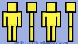 America Online AIM Minecraft Skin