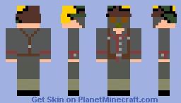 WWI German Solider 1918 Minecraft Skin