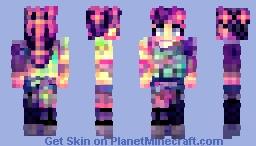 Nelda - Women of the Rainbow Minecraft Skin