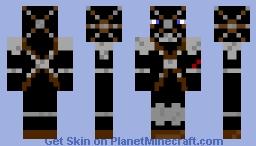 sole survivor (with chain/ cloth armour) Minecraft Skin