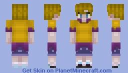 Jasper || Camp Camp Minecraft Skin