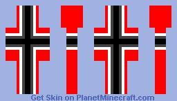 2b2t 4th reich banner skin Minecraft Skin