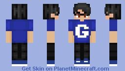 Googleplier (Blue Ver.) ~ chxmicxl Minecraft Skin