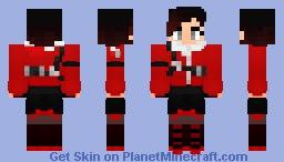 | Ruby Rose - RWBY | Custom Atlas Outfit | Minecraft Skin