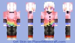 🌈Is He Gay or European? It's Hard To Gurantee!🌈 [LGBT+ Skin | My OC Sipho] Minecraft Skin
