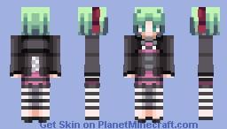 Phonon - Under Night In-Birth Minecraft Skin