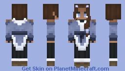 Water Tribe Girl Minecraft Skin