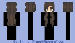 Brown HB Minecraft Skin