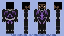Black Panther - MCU: Infinity War Minecraft Skin