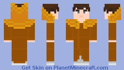 """The Fourth Doctor - in """"The Deadly Assassin"""" N°1 (Prydonian Time Lords' robes) Minecraft Skin"""