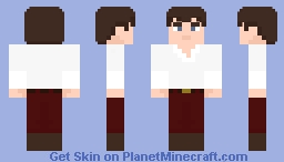 """The Fourth Doctor - in """"The Deadly Asassin"""" N°2 Minecraft Skin"""
