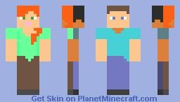 Alex Steve Minecraft Skin
