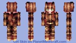 Chatie l Bronze Minecraft Skin