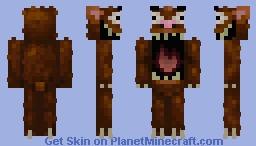 Bigfoot  (New version) Minecraft Skin