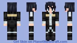 Kazuto Kirigaya Alicization Rising Minecraft Skin