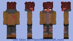 ARSON! Minecraft Skin