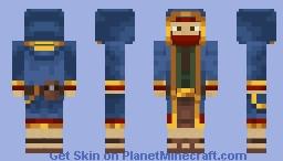 Wandering Trader Minecraft Skin