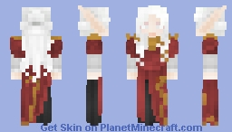 [LotC] Serpent's Dancing Dress Minecraft Skin