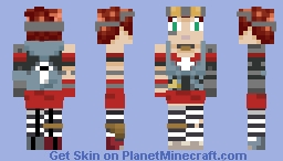 Gaige (Borderlands 2 Mechromancer) Minecraft Skin