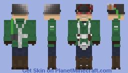Jurgen Waldmann Minecraft Skin