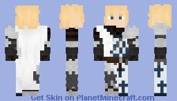 {ℭ𝔞𝔰𝔱𝔩𝔢𝔳𝔞𝔫𝔦𝔞} Leon Belmont (Crusader Armor set) Minecraft Skin