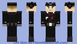 German WWII Panzer Commander. Version 2 Minecraft Skin