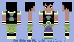 Broly (DBS) Minecraft Skin