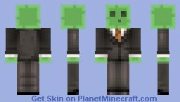 formal slime remake Minecraft Skin