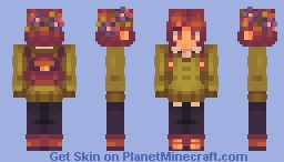plant life [ oc; saffron ] Minecraft Skin