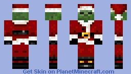 zombie santa claus minecraft skin. Black Bedroom Furniture Sets. Home Design Ideas