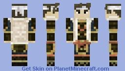 侍  samurai 「天下戦国の上は」 Minecraft Skin