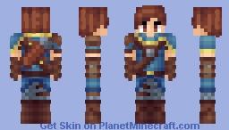 Medieval Archer (3px arms) Minecraft Skin
