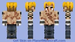 Beowulf (Berserker)   ベオウルフ Fate/GrandOrder Minecraft Skin