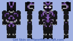 Black Panther - Avengers: Infinity War Minecraft Skin