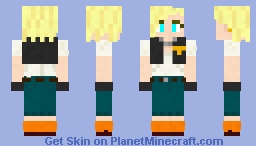 Android 18 (new outfit) DBZ Minecraft Skin