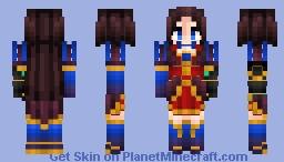Leonardo Da Vinci (Caster) ダ・ヴィンチ Fate/Grand Order Minecraft Skin
