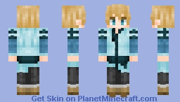 Eugeo Rulid Village Minecraft Skin