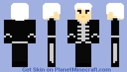 Gerard Way - Welcome to the Black Parade - MCR Minecraft Skin
