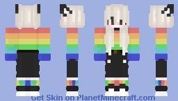 RAINBOW HOODIE Minecraft Skin