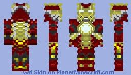 Ironman Mk17 HeartBreaker 3D Minecraft Skin