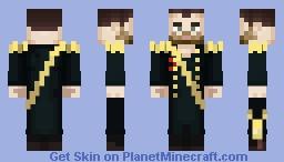Emperor Nikolai II Minecraft Skin