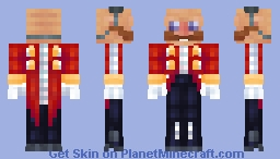 Eggman - awesome Sonic series Minecraft Skin