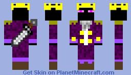 Darth Dante Reborn III (King of the End) Minecraft Skin