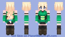 Artemis Godess of the hunt Minecraft Skin