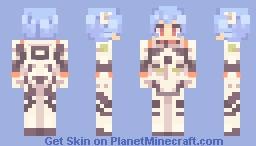 Rei Ayanami [Neon Genesis Evangelion] Minecraft Skin