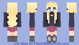 Reina Himura - Fanganronpa Minecraft Skin
